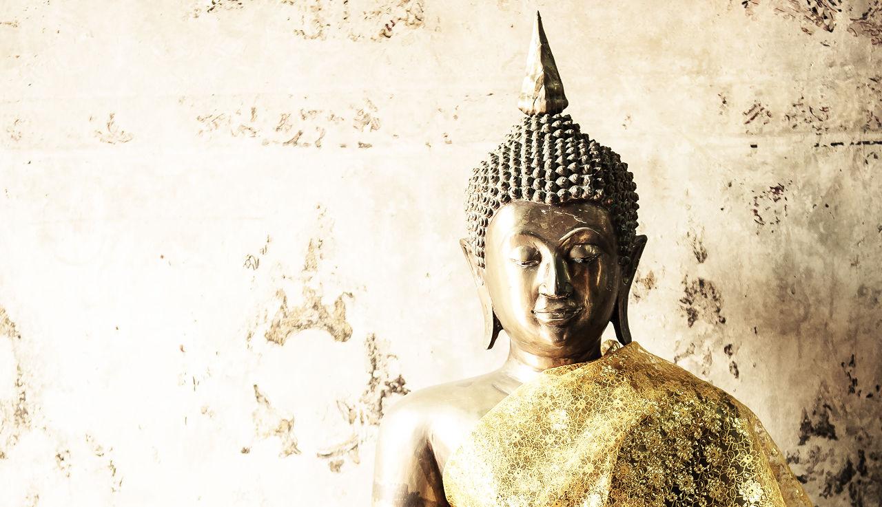 Zen poster design - Buddha Background