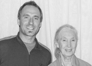 Brad Anthony Meets Jane Goodall